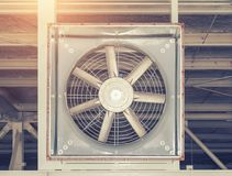 Grand ventilateur Photo stock