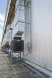 Grand ventilateur d'aérage photos libres de droits