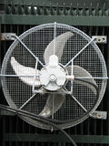 Grand ventilateur industriel Images libres de droits