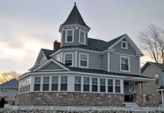Grand Victorian Home. Image of a Grand Victorian Home royalty free stock photos