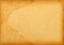 Grand vieux papier supplémentaire Photo libre de droits
