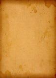 Grand vieux papier supplémentaire Images stock