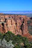 Colorado National Monument. GRand View in Colorado National Monument stock photos