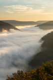 Grand View or Grandview in New River Gorge Stock Photography