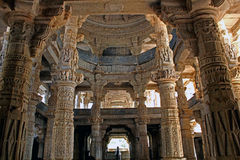 A Grand view of Jain Temple, Ranakpur Royalty Free Stock Photography