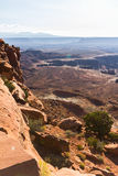 Grand View Overlook at Canyonlands Stock Image