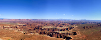 Grand View Point, Canyonlands National Park Stock Images