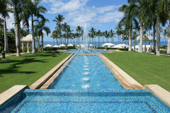 Grand Wailea fountain, Maui Stock Images