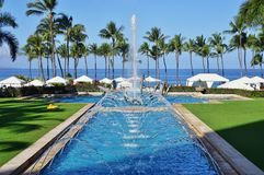 The Grand Wailea hotel in Maui, Hawaii Stock Photos
