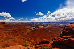 Grand Wash trail, Capital Reef National Park, Utah, USA Royalty Free Stock Photography