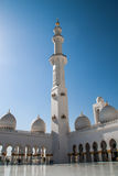 Grand White Mosque Stock Images