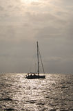 grand yacht Image stock