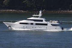 Grand yacht intéressant image libre de droits
