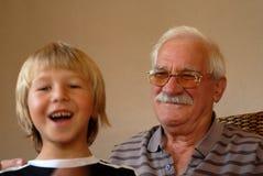 Grandad Fotografia Stock