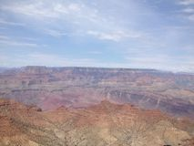 Grandcanyon USA sommar Arkivfoton