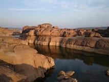 GrandCanyonOfThailand. SamPhanBok stone travel Nature landscape stock photo