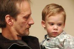 Grandchild. royalty free stock photography