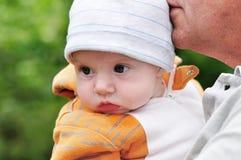 Grandchild portrait Royalty Free Stock Photos