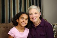 Granddaughter Stock Image