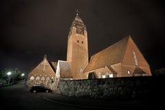 Grande église Photo libre de droits