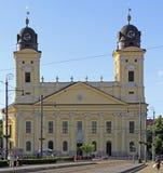 Grande église calviniste à Debrecen, Hongrie Image libre de droits