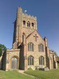 Grande église de Tey, Essex, Angleterre Images libres de droits