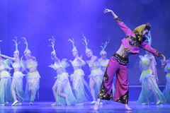 Grande épopée de danse Image stock
