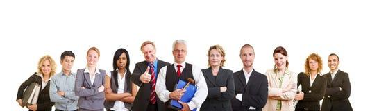 Grande équipe des avocats Images libres de droits