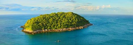 Grande île tropicale Images stock