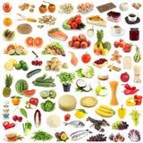 Grande accumulazione dell'alimento Immagini Stock