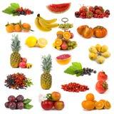 Grande accumulazione della frutta Fotografia Stock