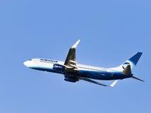 Grande aereo Boeing 737-83N W Alrosa-Avia Fotografia Stock Libera da Diritti