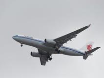 Grande Airbus A330-243 Air China Imagens de Stock