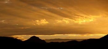 Grande alba della curvatura Fotografia Stock