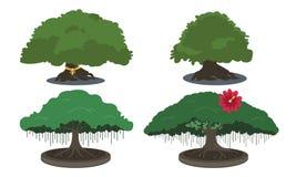 Grande albero illustrazione di stock