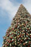 Grande albero di Natale Fotografia Stock Libera da Diritti