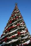 Grande albero di Natale Immagini Stock Libere da Diritti