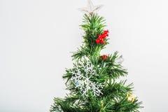 Grande albero di Natale Fotografia Stock