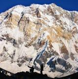 Grande Annapurna. Fotografia Stock Libera da Diritti