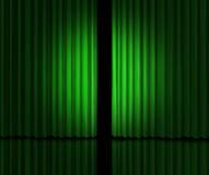 Grande annuncio verde Immagini Stock
