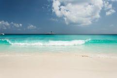 Grande Anse, La Digue, Seychelles Fotografia Stock Libera da Diritti