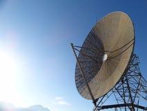 Grande antenna di radar 60s fotografie stock