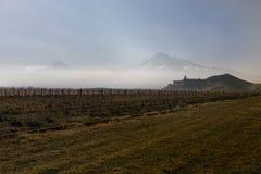 Grande Ararat, monastério de Khor Virap Fotos de Stock Royalty Free