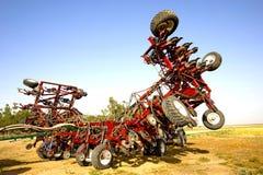 Grande aratro agricolo Immagini Stock Libere da Diritti