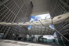 Grande Arche - υπεράσπιση Λα, Παρίσι, Ευρώπη Στοκ Φωτογραφία