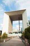 Grande Arche, υπεράσπιση Λα, Παρίσι Στοκ Εικόνα