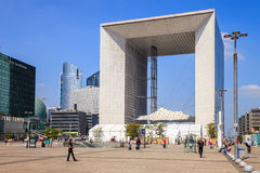 Grande Arche Royalty Free Stock Photography