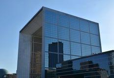 Grande Arche de la Défense Arkivfoto
