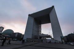Grande Arche de la défense de La - Paris Photographie stock libre de droits