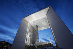 Grande Arche de la defense Stock Photo